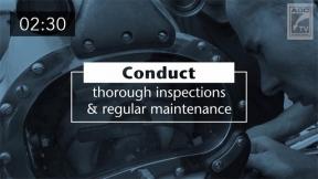 Best Practices for Equipment Maintenance (Spanish Subtitles)